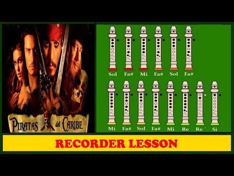 Comment jouer le thème de Pirates des Caraibes à la flûte