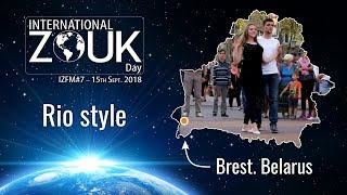 International Zouk Day in Brest, Belarus / Rio style / 2018