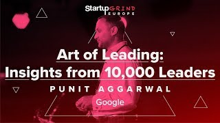 Art of Startup Leadership