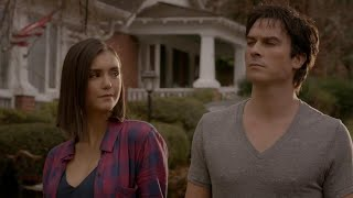 The Vampire Diaries: 8x16 - End Ending: Damon and Elena human together [HD]