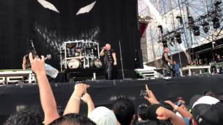 Disturbed - The Vengeful one - live Konfest Mexico 2016