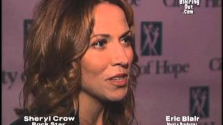 Sheryl Crow talks w Eric Blair on October/11/2001 about Stevie Nicks,The City of Hope & 9/11/01