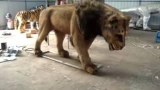 animatronic animal---Lion