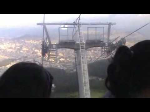 Andy en el Teleferico de Quito