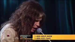 Aerosmith,HD,ream On ,live  Hurricane Sandy Coming Together,HD 1080p