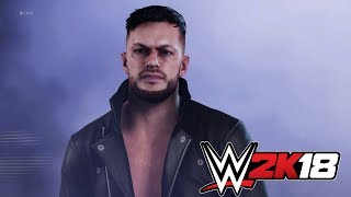 Entrada de Finn Bálor en WWE 2K18