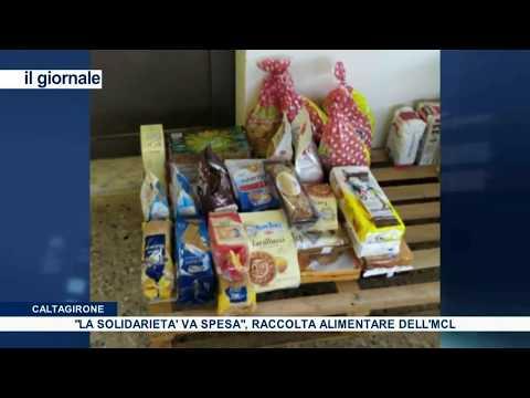 (VIDEO) Caltagirone:  volontari MCL e ospiti del CPA, insieme per raccogliere alimenti, a sostegno della Mensa dei Poveri