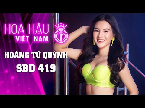 419 HOÀNG TÚ QUỲNH HOA HẬU VIỆT NAM 2020