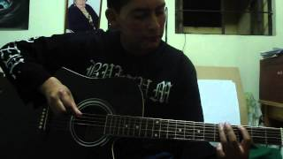 Acoustic  burzum's  war  cover