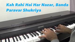 Aapki Nazaron Ne Samjha Piano Cover By Angad Kukreja