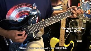 Toto GEORGY PORGY ft Cheryl Lynn Guitar Strumming Cover EricBlackmonMusicHD
