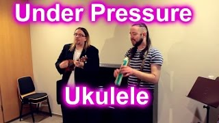 Queen & David Bowie - Under Pressure - Ukulele - LuckyPockets