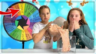 MYSTERY WHEEL OF DUMP IT SLIME CHALLENGE! en français