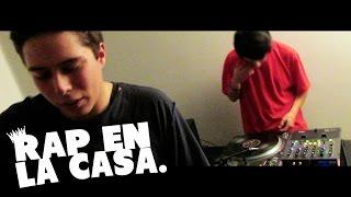 RAP EN LA CASA: UNOMAS & DJ TEAZ .