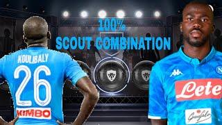 FUTURE BLACK BALL KOULIBALY 100% SCOUT COMBINATION, PES 2018 MOBILE
