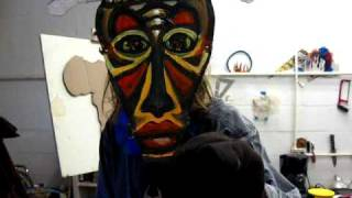 """On the Next...Crud Ball Art Show..."""" Tribal War""""..or """" heres Crud in your Eye """""""