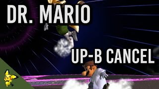 Dr. Mario Up-B Cancel Tutorial (ft LuigiKid) - Super Smash Bros. Melee