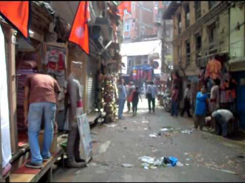 Around Asan, Kathmandu, Nepal 3 October 2011