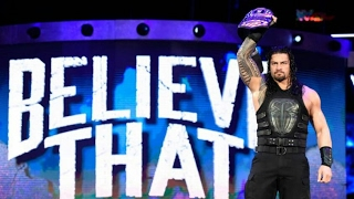 WWE-Roman Reigns Tribute - Remember The Name 2016