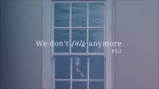 "[3D AUDIO] BTS Jungkook & Jimin ""We Don't Talk Anymore"""