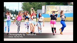 Dancehall Choreography by Tanusha - Leftside - She Nuh Wha