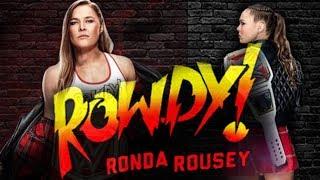 Ronda Rousey WWE Theme (Rowdy Intro) Bad Reputation 2018