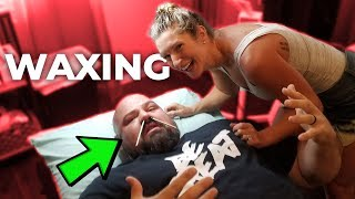 GETTING MY NOSE WAXED *PAINFUL, I BLED*