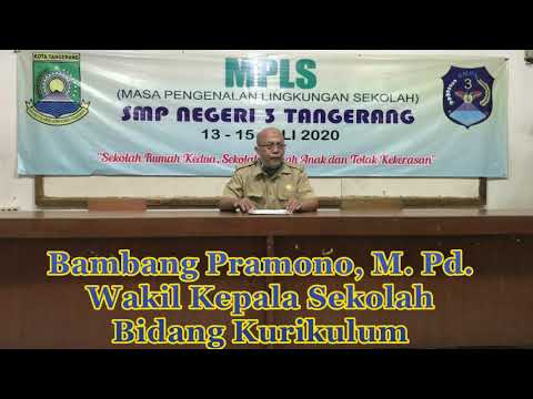 Materi PLS daring SMP Negeri 3 Kota Tangerang