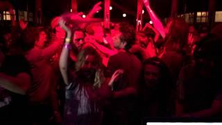 DJ Miss World and Esta Polyesta at Gitannekesfoor 2015 from the DJ Booth djpolyesta nl