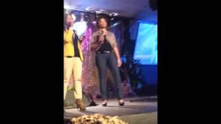Destiny & Brionna singing Invisible