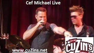 Cef Michael sings Dust on the Bottle @ Cuzins Tinley Park, IL