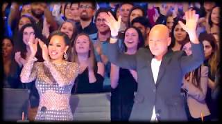 America's Got Talent 2017 Golden Buzzer for Mandy Harvey