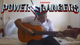 Power Rangers Theme 2017 Movie - Fingerstyle Guitar Cover - (FREE TABS) 2017 MOVIE