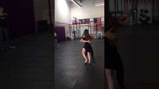 Bachata with Mike and Lindsey at CrossFit Vibe