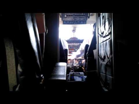 Buddha airline landing in Kathmandu Nepal