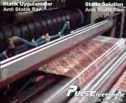 Poşet Kesme Makinası Statik Uygulaması