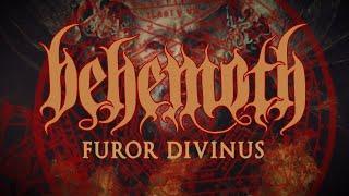BEHEMOTH - Furor Divinus [Lyrics Video]