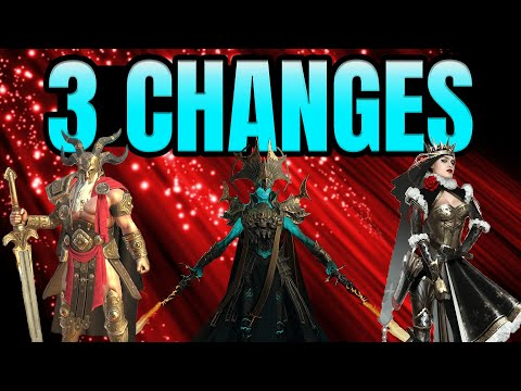 3 Changes Reviewed I Raid Shadow Legends