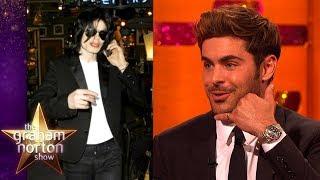 Zac Efron Made Michael Jackson Cry!   The Graham Norton Show