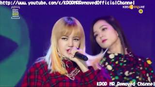 [MR Removed] 170119 BLACKPINK - PLAYING WITH FIRE (불장난) + BOOMBAYAH (붐바야) [2017 Seoul Music Awards]