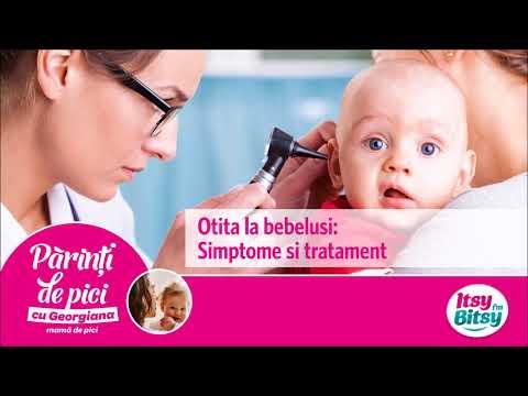 Otita la bebelusi: Simptome si tratament