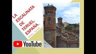 11. ESCALINATA DE TERUEL. Teruel. España