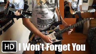 Poison I Won't Forget You guitar cover with solo (+ lyrics) HD