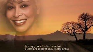 Let's Stay Together - Tina Turner - Lyrics