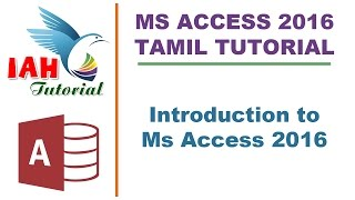 1. Introduction to MS ACCESS - Tamil Tutorial width=
