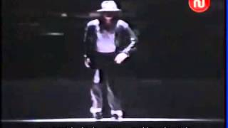 MJ Billie jean robot in Tunisia