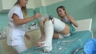 lcfsp llc preview PERFECT plaster leg cast LLC
