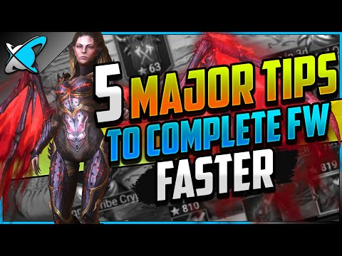 """5 MAJOR TIPS... To Complete Faction Wars FASTER 