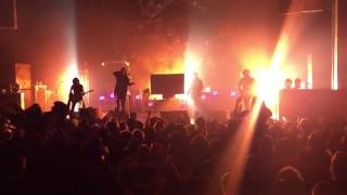 "Motionless in White ""Hatefuck"" Live @ Cleveland Agora 10/24/15"