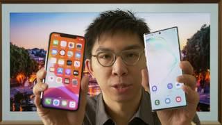 iPhone 11 Pro Max vs Samsung Note 10 Plus HDR Picture Comparison